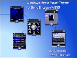 Media Player Skin for W810i by zigshot82