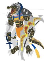 Renekton as egyptian god sobek gir ider work 4 by daylover1313