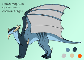 Magnum Ref - Simple by Morgan-Michele