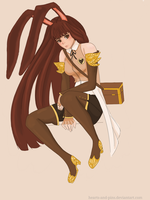 Velvet Scarlatina: Timeskip by hearts-and-pins