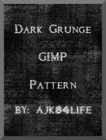 Dark Grunge GIMP Pattern by ajsk84life