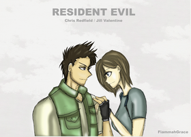 RE Jill x Chris r4 by FiammahGrace