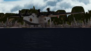 Shere Khan Cargo Plane Take Off by PUFFINSTUDIOS
