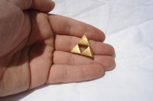Triforce Pendant by ArtNinja101