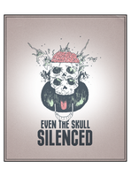Silenced Skull by albakaziy