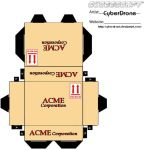 Cubee - Acme Box 1 by CyberDrone