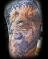 Lion by SerenityInkMilwaukee