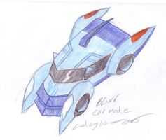 Blurr Vehicle Mode by Hellblaze