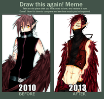 Draw this again meme by 01604