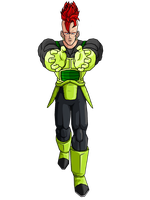 Super Android 16 by brolyeuphyfusion9500