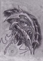 biomech eye by primitive-art