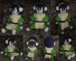 Toph Plushie: Moetivation by TheCraftyTitan