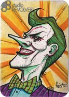 Joker card by gatchatom