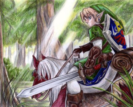 Into the unknown.. by legendaryHylian
