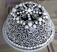 Chocolate dome cake by JSjewelry