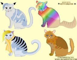 Kitty Creator Preview by Snowbristle