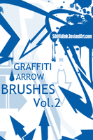 Graffiti Arrow Brush Pack 2 by SikWidInk
