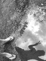 puddle of peace by PhotoBoothLoveXx