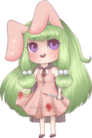 Rabbitgirl by Anolee