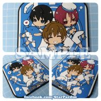 FREE! 3Friends Rubber Cup Mat by MaowDao