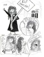 A Day With Hermione-WickedS... by HogwartsArt