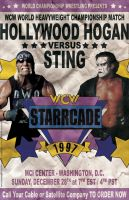 WCW Starrcade 1997 Vintage Poster by PaulGriffin