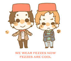 We wear fezzes now- by jamknight
