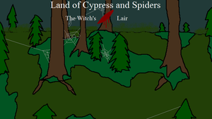 Land of Cypress and Spiders by arandombard