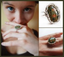 Unakit ring by OlgaC