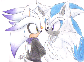 Silence between two by sonicartist16