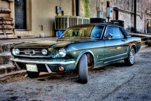 1965 Ford Mustang by phlezk