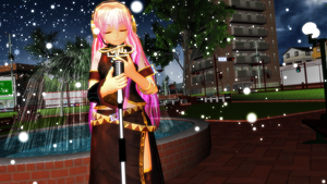 Megurine Luka - puzzle by caio4856