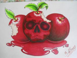 the shinigami likes apples by tr3slibras