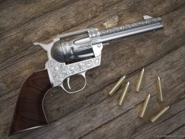 Colt 45 Peacemaker by FilipR