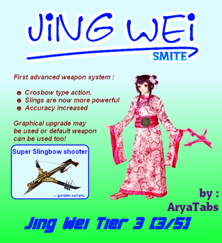 Jing Wei Tier 3 by arya-tabs
