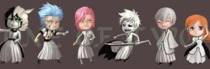 Bleach chibis 1 by oneoftwo