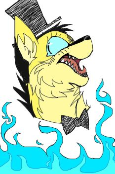 Bill Cipher Cat Thing by Rayquaza131