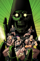 Ghostbusters: Death's Hand Cover by maxmax123