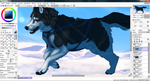 Siberian (FA) Commission -WIP2- by NinjaKato