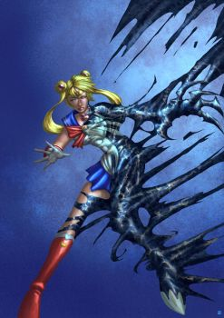 Sailor Moon Symbiote by cric