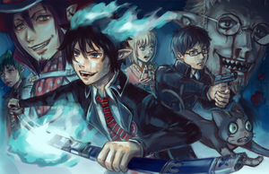 Blue Exorcist by Pew-PewStudio