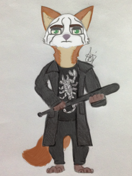 Nick Wilde as Sting (REQUEST) by MousaCalliope