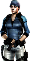 the mercenaries - Jill render by WeskerFan1236