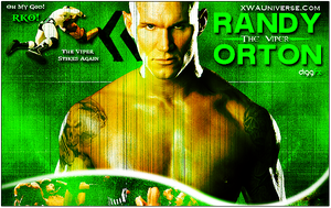 WWE Randy Orton Official Poste by xwadigg