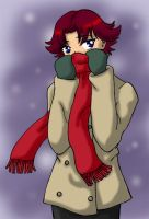 Red Scarf by agent-indigo