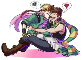 Jjba - dumb boyfriends by RasTear
