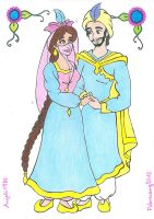 Princess Maariyah And Prince Shah by AnneMarie1986