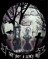 Narcissa and Aurora the lovely ghost by MorskieNovitch