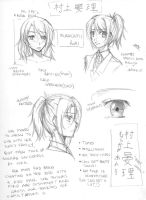 OreHiki: new OC Anri -notes by Artifedex