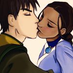 +Zutara Kiss+ by SpiritOasis